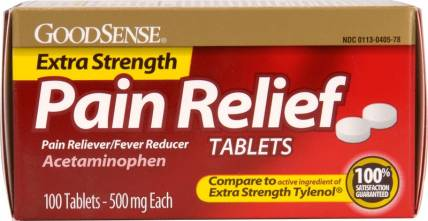 Painkiller for Toothache
