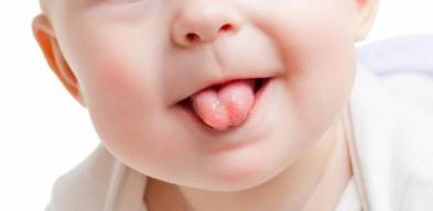 Baby Tongue Thrust